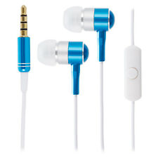 Blu / Bianco Cromo Cuffie Auricolari per Apple iPhone 6 6s Plus 5s SE iPad