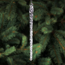 "24-6"" & 12-10"" Glass Icicles - 36 Christmas Ornaments"