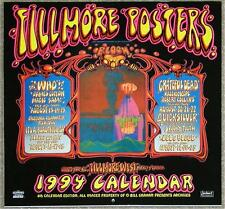 FILLMORE POSTERS ~ 1994 CALENDAR ~ 12 EXCITING POSTERS!