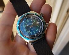 ANCIENNE MONTRE PLONGEE SUBMARINE AUTOMATIQUE COMPRESSOR vintage FRENCH DIVER