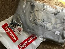 Supreme Multi Color Classic Logo Hooded Sweatshirt Hoodie SS17 Med
