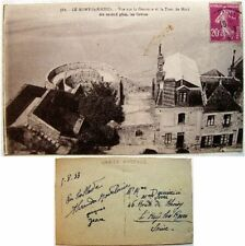cpa 35 Le Mont Saint Michel vue sur Courtine tour du Nord les grèves Laurent Nel
