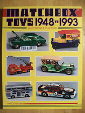 Matchbox Car Truck Price Guide Reference Book Match box