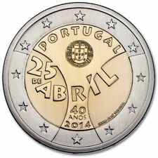 Portugal 2 Euro (€2) commemorative coin 2014 Carnation Revolution - UNCIRCULATED