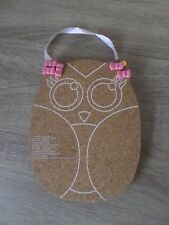 CLAIRE'S OWL PIN BOARD NEW XMAS GIFT STOCKING GIRLS LADIES