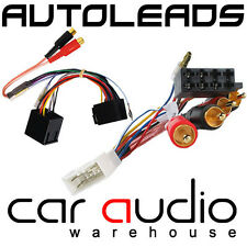 PC9-406 Toyota MR2 1985 - 1991 Car Stereo Amp Bypass RCA to ISO Wiring Harness