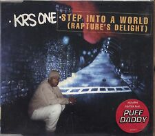 KRS-ONE - Step into a world - PUFF DADDY CDs SINGLE 1997 4 TRACKS NEAR MINT