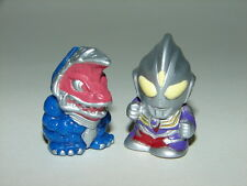 SD Ultraman Tiga vs Golza Mini Figures! Godzilla Gamera