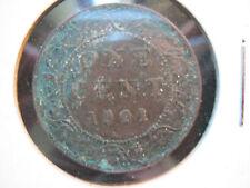 Canada 1901 Victoria Large Cent 1¢ Fine