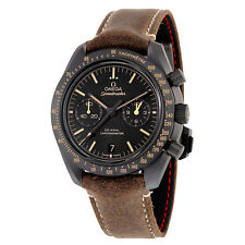 Omega Speedmaster Moonwatch Co-Axial Black Dial Chronograph Automatic Mens