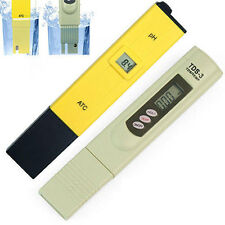 0-14PH Soil Tester and 0-9990PPM TDS Meter Purity Pen Stick for Water Purifier