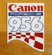 Canon Porsche 956 Le Mans World Sportscar Retro Race / Motorsport Sticker Decal