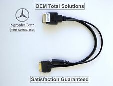 OEM 2009-2012 Mercedes Benz Genuine iPod iPhone AUX Music Cable Adapter #8504