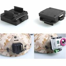 Aluminum Helmet Fixed Mount NVG Mount Base Adapter for Gopro HD Hero 1 2 3 3+ 4