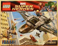 LEGO Marvel 6869 Quinjet Aerial Battle NEW Black Widow + Iron Man + Thor