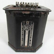 Vintage UTC PA-135 Input Transformer - 500, 200, or 50 Ohm Line to PP Grids