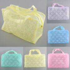 Portable Durable Makeup Bath Toiletry Travel Toothbrush Pouch Bag Case