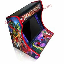Bartop Arcade Cabinet CNC Cut DIY - MDF Pick Your Control and Button Panel Cuts!