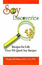 Soy Discoveries, Recipes for Life: Over 700 Quick Soy Recipes-ExLibrary