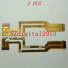 "2PCS/ ""FP-185 "" NEW LCD Flex Cable for SONY DCR- HC33E HC39E HC42E HC43E"