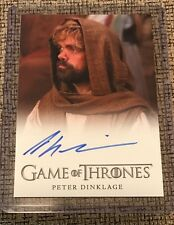 Peter Dinklage - Game of Thrones Season 5 Autograph Card Rittenhouse - Tyrion