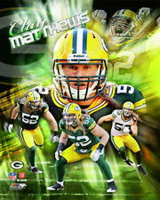 Clay Matthews EXPLOSION Green Bay Packers Multi-Photo Poster Print