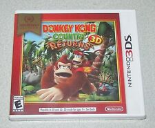 Donkey Kong Country Returns 3D for Nintendo 3DS Brand New! Factory Sealed!