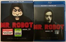 MR ROBOT SEASON 2 BLU RAY UNCENSORED 3 DISC SET + SLIPCOVER SLEEVE FREE SHIPPING