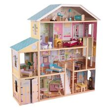 KidKraft Majestic Dollhouse Mansion Four Story Gigantic Girls Dolls New