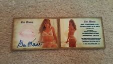 Gia Marie Autograph Signed Kiss Print Trading Card Playboy Playmate Clothed