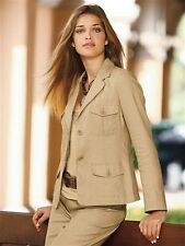 Leinen-Blazer, Together. Beige. Gr. 38. NEU!!! KP 79,90 €