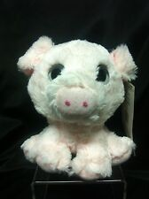 Cute Big Eye Pig Plush Stuff Animal ~8""