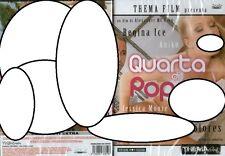 """DVD SEALED""""QUARTA DI POPPE""""JESSICA MOORE-ANIKO-REGINA ICE-MIA DOLORES-90 MIN.ITA"""