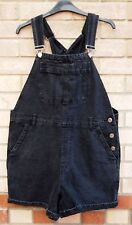 TOPSHOP MOTO BAGGY OVERSIZED DENIM JEANS DUNGAREES PLAYSUIT ALL IN ONE 14 L