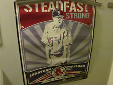 BOSTON RED SOX POSTER 2008 STEADFAST STRONG  DISPLAY VINTAGE