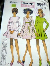 LOVELY VTG 1960s DRESS WELSONS Sewing Pattern 14/36