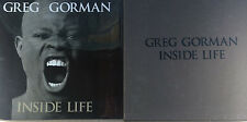 INSIDE LIFE BY GREG GORMAN *W/ SIGNED SILVER GELATIN PRINT*FIRST ED*