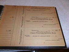 PLANTERS PEANUT CHECK BOOK-MEMPHIS TN.  STORE--1940'S--24 UNUSED CHECKS