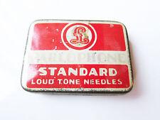 Grammophon NADELDOSE PARLOPHONE LOUD TONE - MIT NADELN ! gramophone needle tin