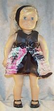 "Doll Clothes fit American Girl 18"" inch Costume Rock Star Project Runway Inspire"