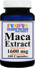 Maca Root Extract 1600 mg 100 Caps - Enhance Sexual Health