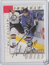 1997-98 Pinnacle Be A Player Signature Autograph Adam Oates HALL of FAME AUTO