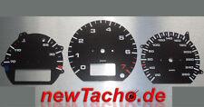 VW Corrado G60 Tachoscheiben Porsche Carbon Optik Gauge Tacho Dial plates speedo