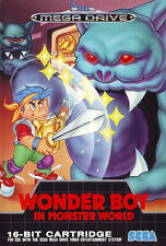 ## Wonder Boy in Monster World - SEGA Mega Drive / MD Spiel - TOP ##