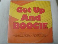 GET UP AND BOOGIE 2X VINYL LP VARIOUS ARTISTS 1976 T.E.J. RECORDS ONLY SIXTEEN