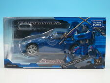 Transformers Alternity Nissan Fairlady Z Megatron Premium LeMans Blue Action...