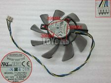 New For ASUS GTX460 HD6790 graphics card Cooing fan T129215SU 12V 0.5A 4-Pin