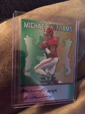 2013 Leaf Valiant Michael Williams Autographed Card