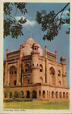 CD81.Vintage Postcard. Safdarjang Tomb, Delhi, India
