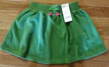 "Girls Size 7 Gymboree ""Merry And Bright"" Green Skirt NEW"